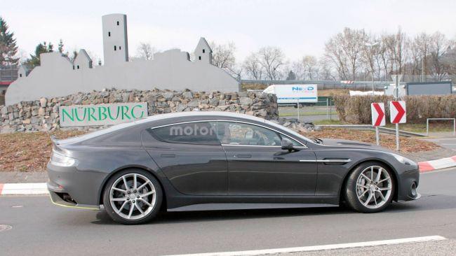 Свежие сведения о новой «четырехдверке» Aston Martin 3