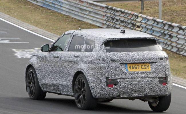 Каким будет обновленный Range Rover Evoque 3