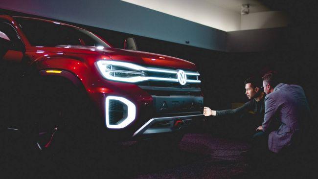 Volkswagen разрабатывает роскошный пикап Tanoak 2