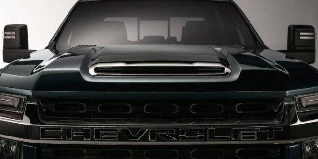 Появилось первое официальное изображение нового пикапа Chevrolet Silverado 1