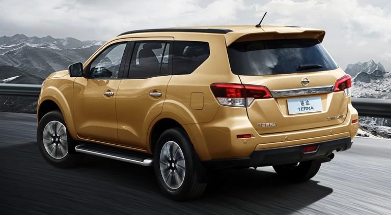 Рамный внедорожник Nissan Terra ограничится бензиновым мотором 2