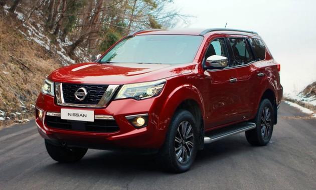 Рамный внедорожник Nissan Terra ограничится бензиновым мотором 1