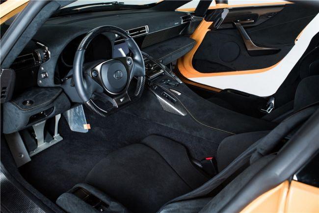 Редчайший Lexus LFA Nürburgring Edition выставили на торги 2