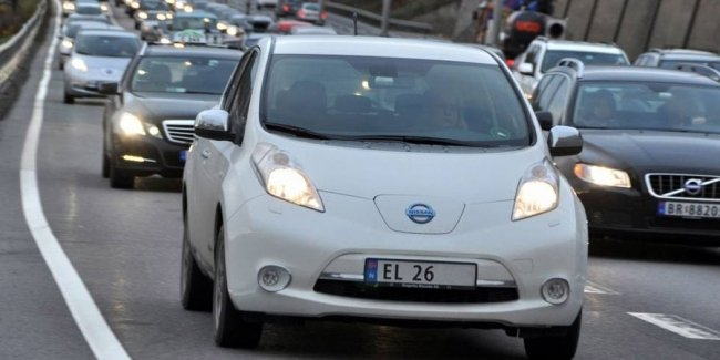 Электромобили «захватывают» Европу 1