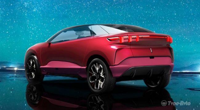 Новый китайский бренд представит электрокроссовер 1