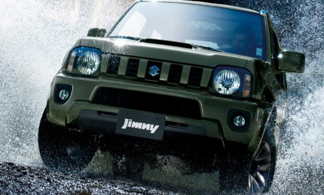 Suzuki отправил «на пенсию» модель Jimny 1