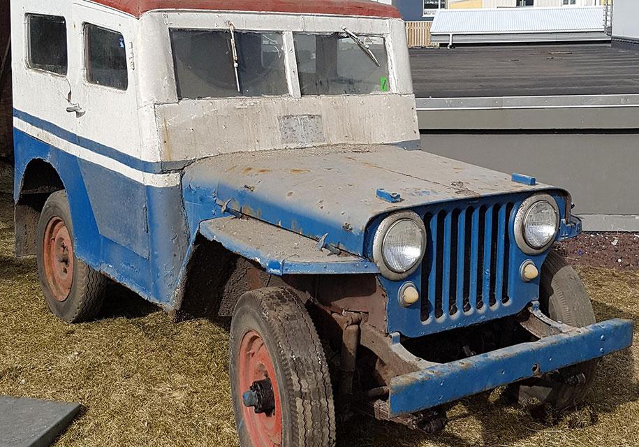 В Исландии обнаружен 72-летний внедорожник Willys 1