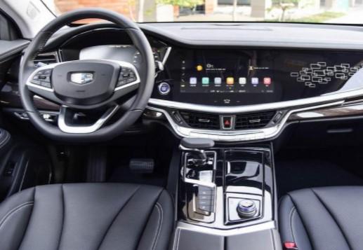 Седан Geely Emgrand GT с «начинкой» Volvo показался на фото 2
