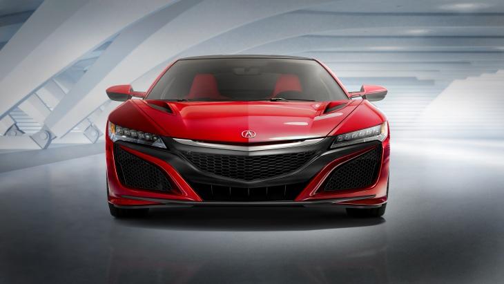 Acura представит открытый суперкар NSX Roadster 1