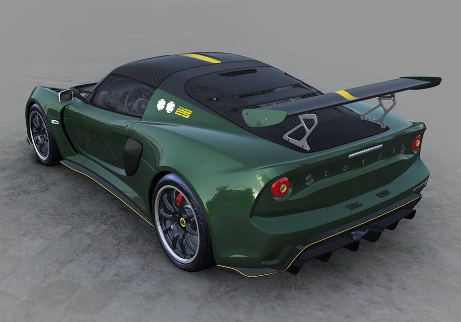 Lotus построил «идеальный» Exige для коллекционеров 2
