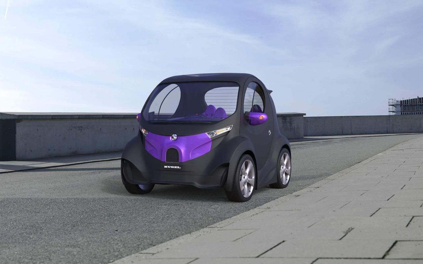 Украинец, создавший суперкар Himera, показал новый электромобиль 1