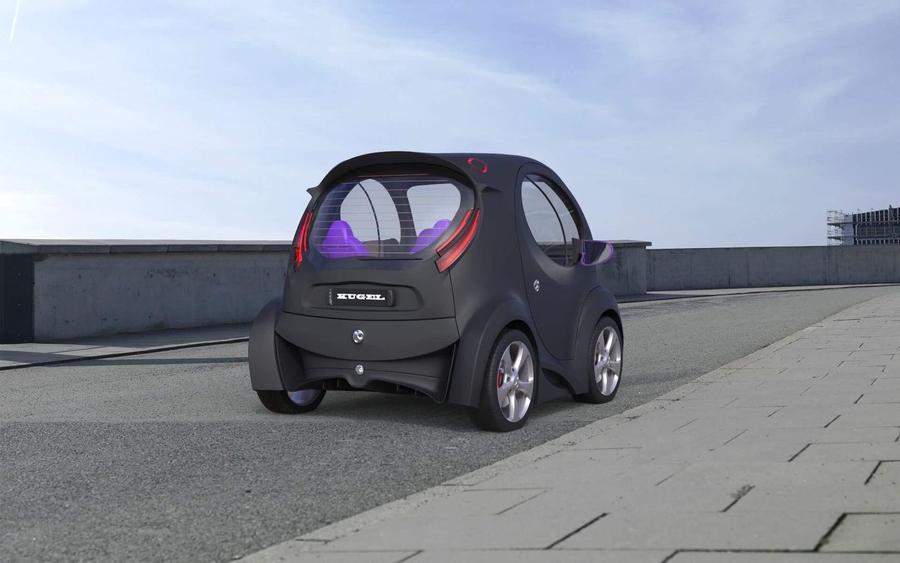 Украинец, создавший суперкар Himera, показал новый электромобиль 2