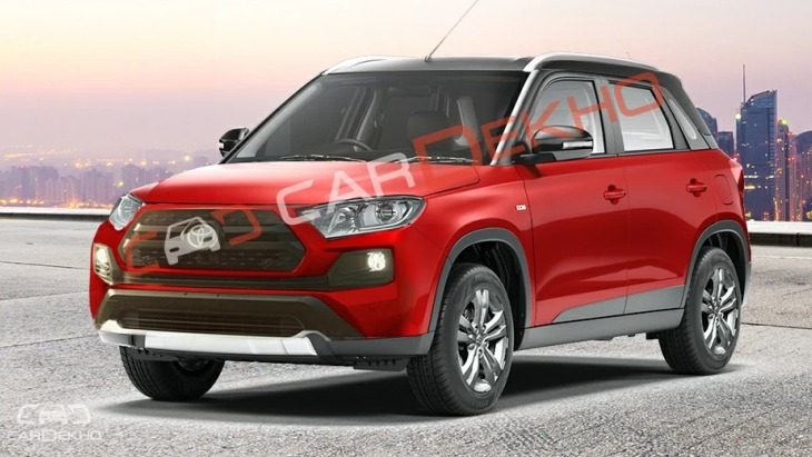 Как будет выглядеть Toyota Vitara Brezza 1