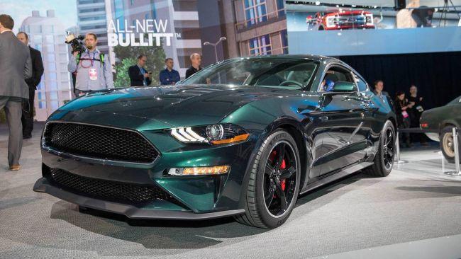 Ford Mustang Bullitt замечен на городских улицах 1