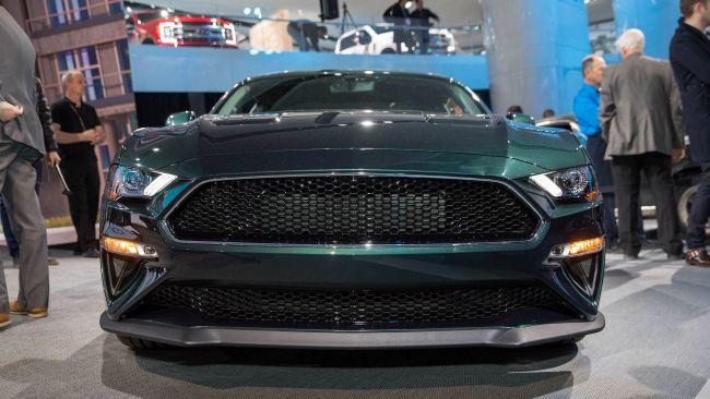 Ford Mustang Bullitt замечен на городских улицах 2