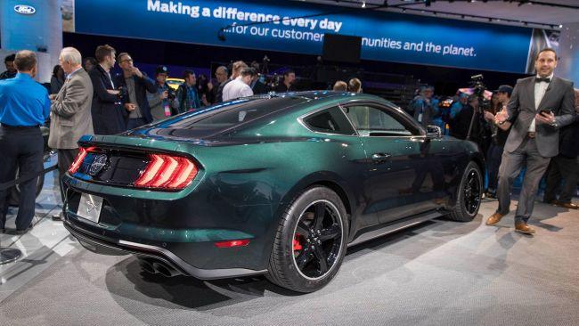 Ford Mustang Bullitt замечен на городских улицах 3