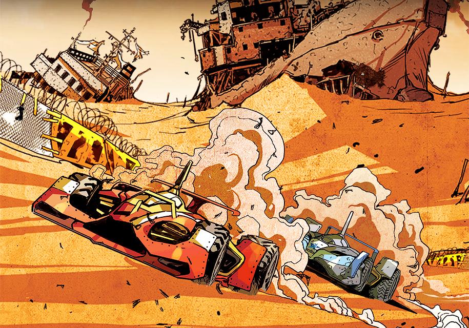 Компания Ferrari занялась выпуском комиксов 1