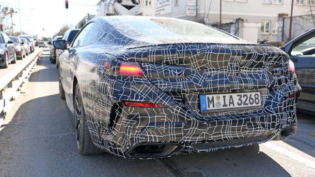 Роскошные BMW 8-й серии замечены на тестах 2