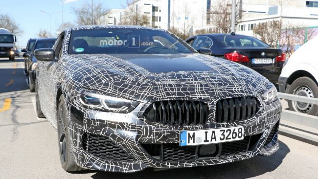 Роскошные BMW 8-й серии замечены на тестах 1