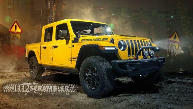 Jeep анонсировал новый пикап под именем Scrambler 2
