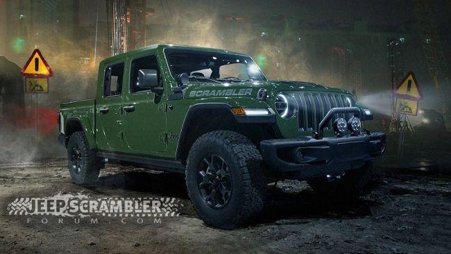 Jeep анонсировал новый пикап под именем Scrambler 1