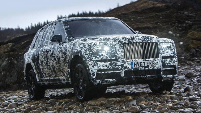 Rolls-Royce завершит тесты внедорожника Cullinan вместе с National Geographic 1