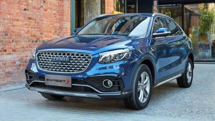 Китайский клон Mercedes-Benz GLA получил ценник 2