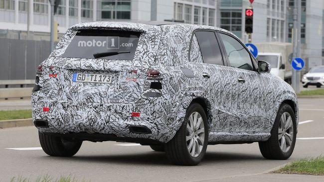 Mercedes-Benz завершает испытания внедорожника GLE 2019 года 2