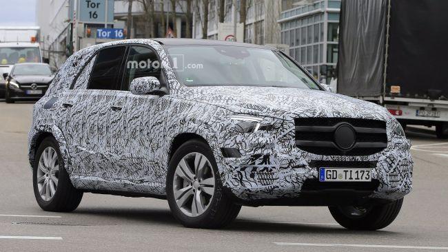 Mercedes-Benz завершает испытания внедорожника GLE 2019 года 1