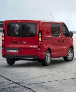 Opel представит новый фургон Vivaro 1