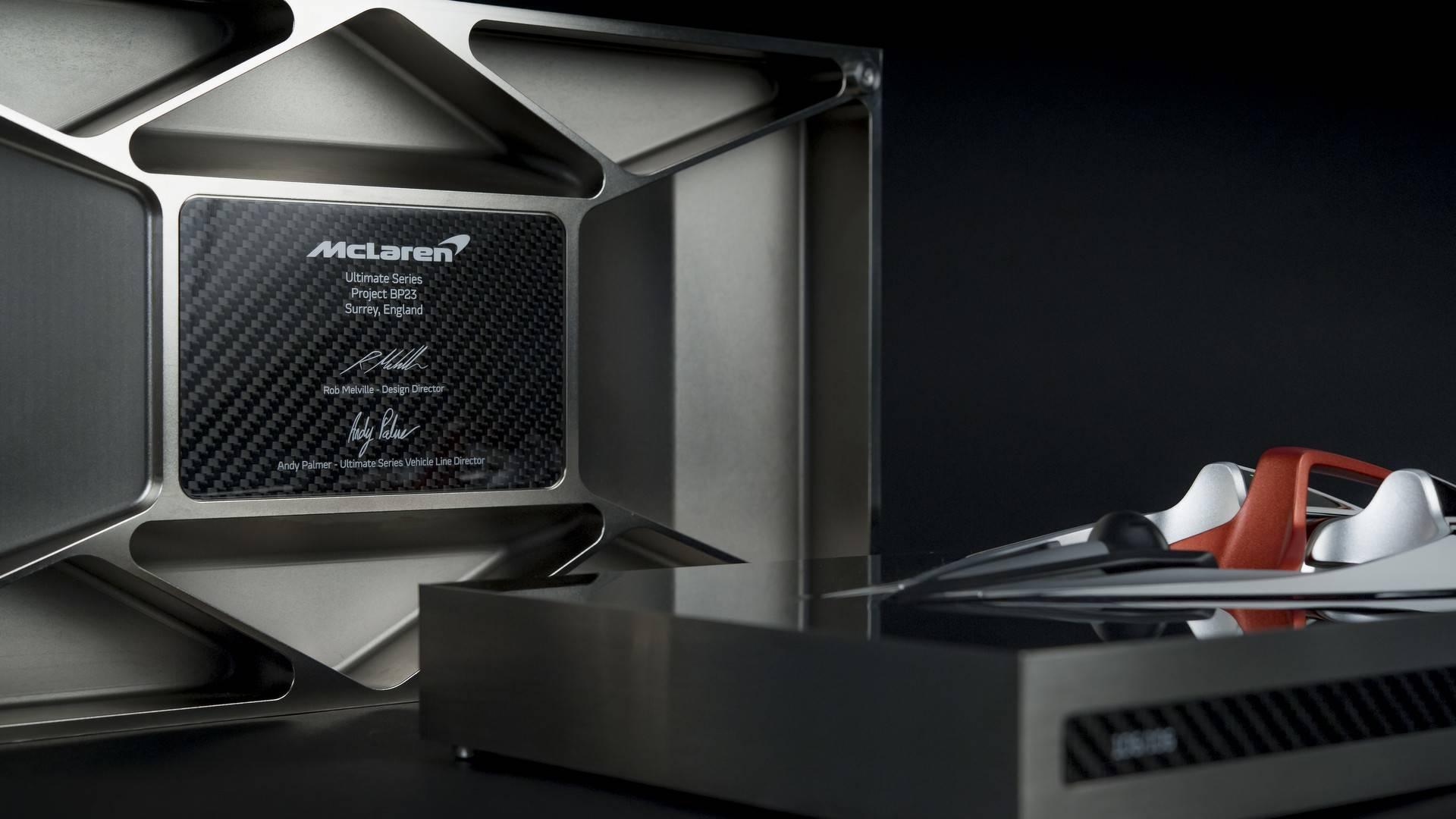 Обладатели быстрейшего гиперкара McLaren получат ценный подарок 1