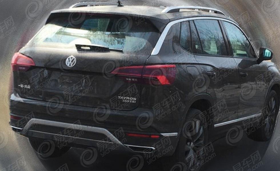 Кроссовер Volkswagen Tayron замечен на тестах 1