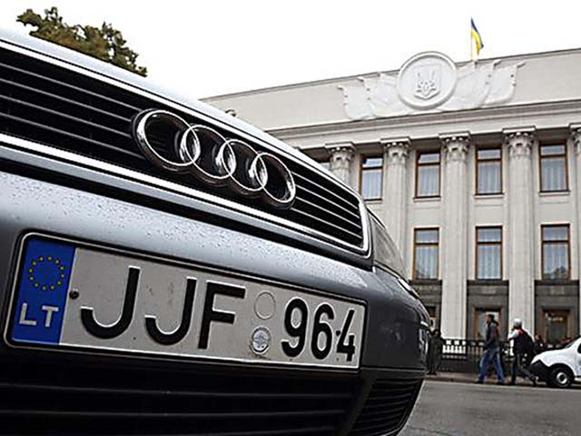 Украинцы против «молдавского сценария» легализации ввезенных автомобилей 1