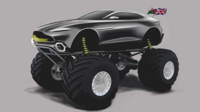 Aston Martin разработала Project Sparta для гонок на выживание 1