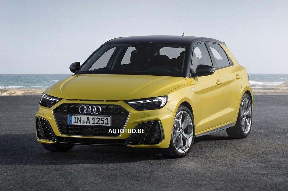Внешность Audi A1 новой генерации рассекретили до премьеры 1