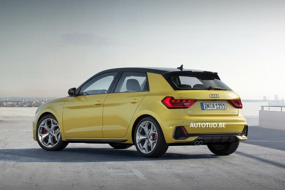 Внешность Audi A1 новой генерации рассекретили до премьеры 3