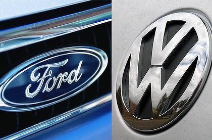 Volkswagen объединится с Ford 1