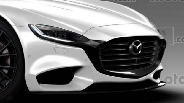 Опубликованы первые рендеры новой Mazda RX-9 1