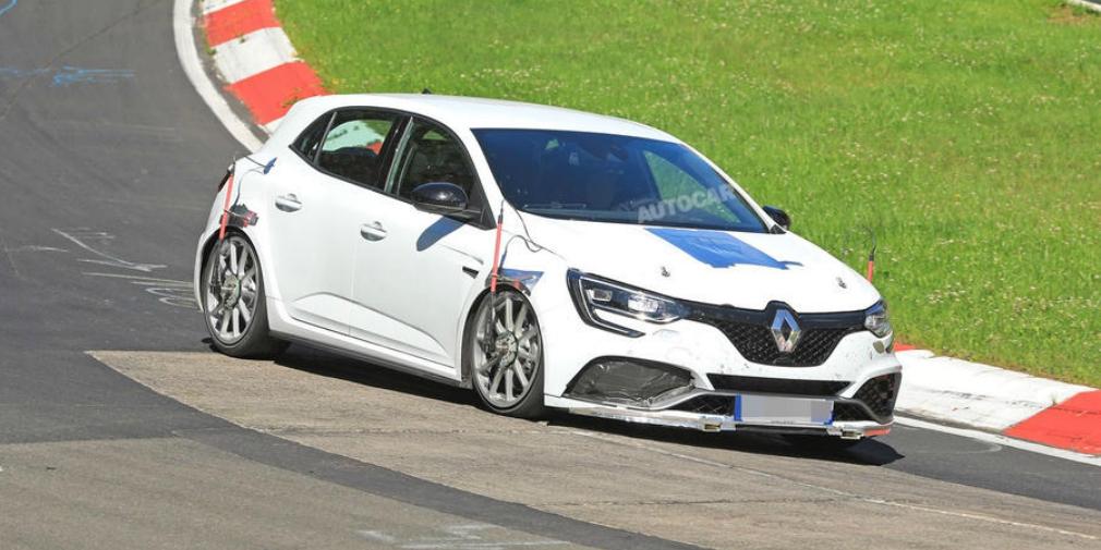 Renault готовит новый Megane RS к рекорду на Нюрбургринге 1