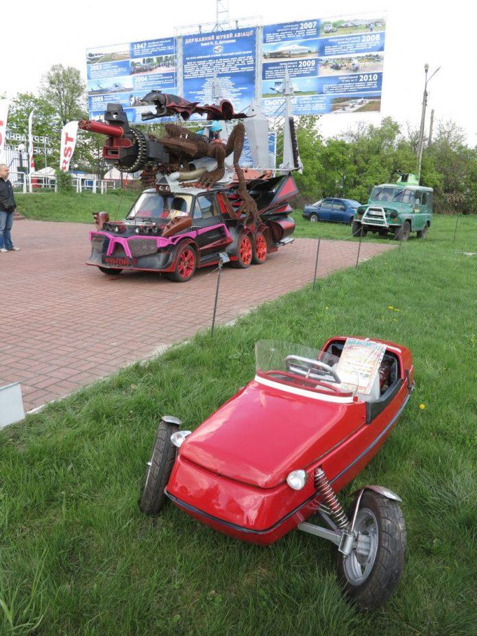 «Люльколет» - самый маленький автомобиль украинского производства 2