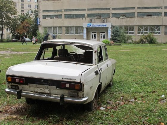 В Украине объявили «войну» брошенным автомобилям 2