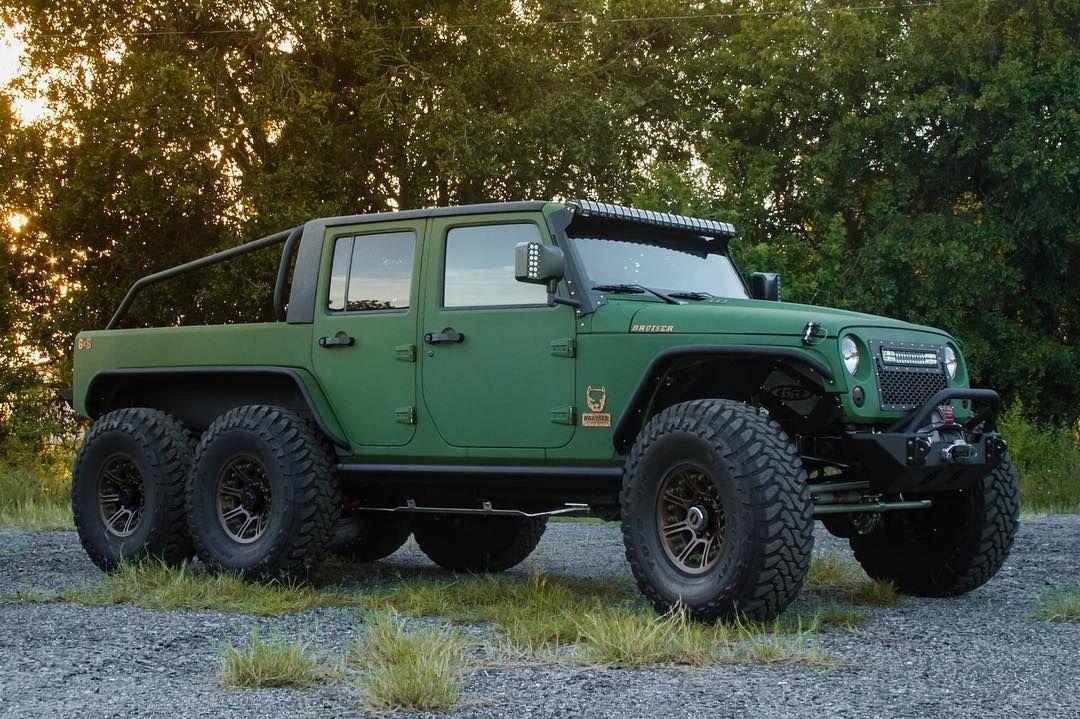 Как едет Jeep Wrangler 6x6 c 450-сильным мотором — в разделе «Звук и тюнинг» на сайте AvtoBlog.ua