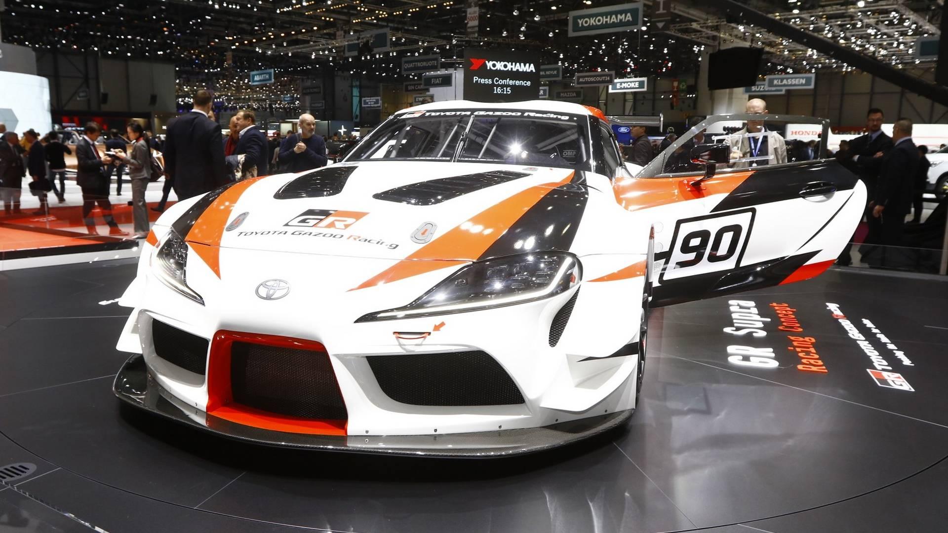 Возрожденная Toyota Supra получит «горячую» версию 2
