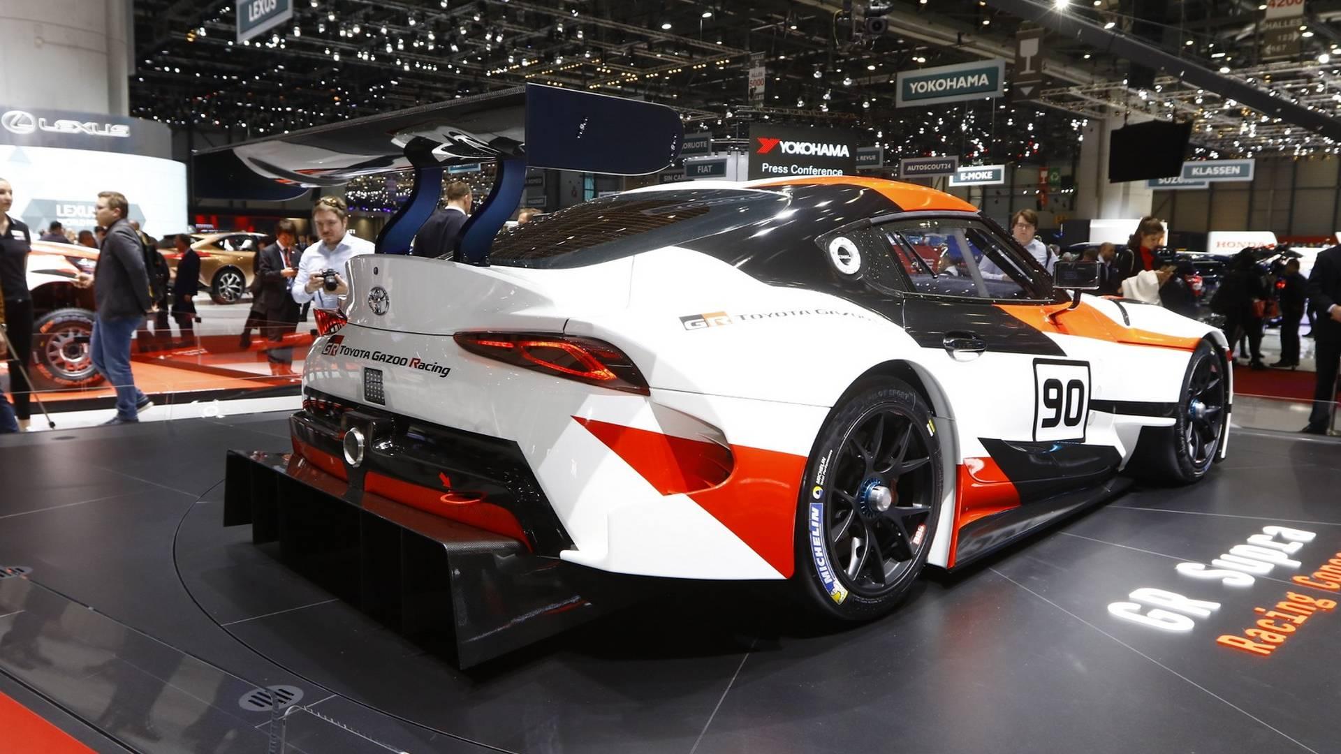 Возрожденная Toyota Supra получит «горячую» версию 3