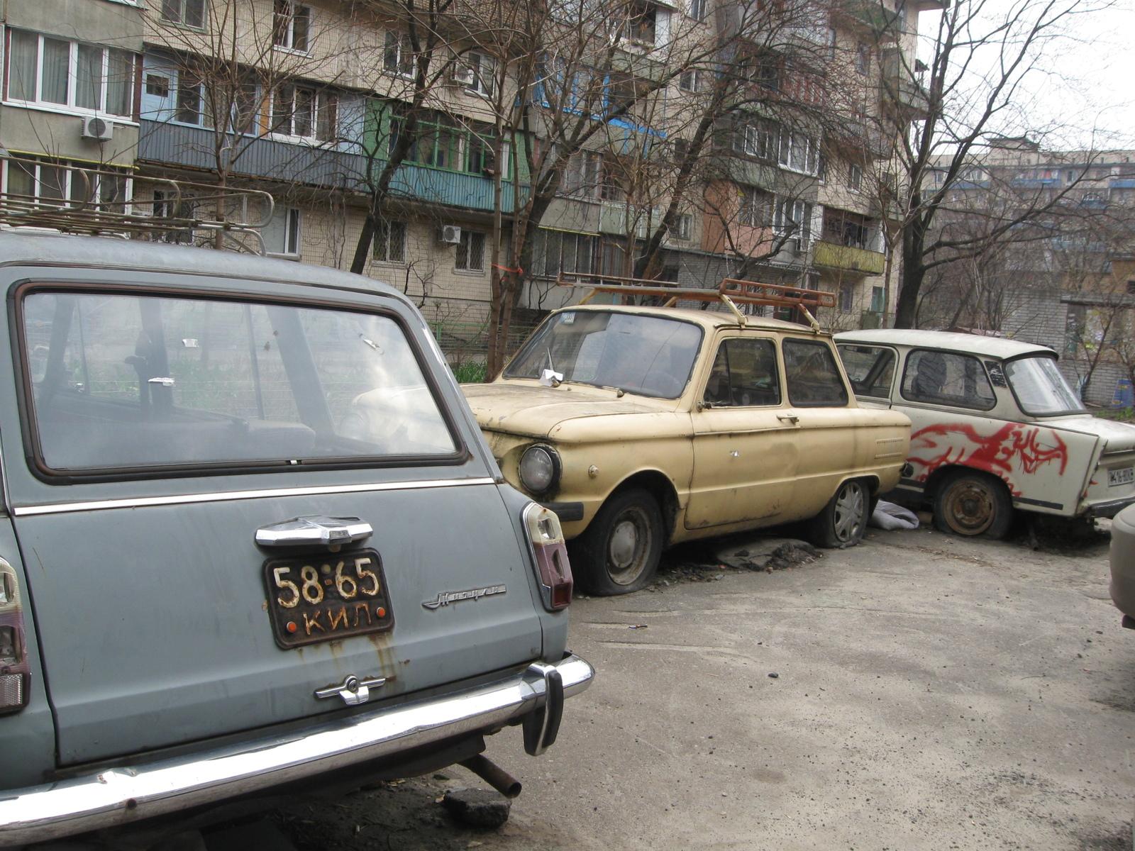 В Украине объявили «войну» брошенным автомобилям 1