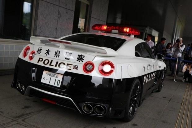 Японская полиция получила патрульный Nissan GT-R 2