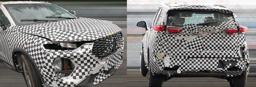 Китайцы показали изображения «клона» Hyundai Santa Fe 2