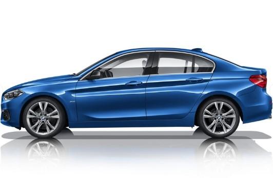 Седан BMW 1-Series выбрался за пределы Китая 2