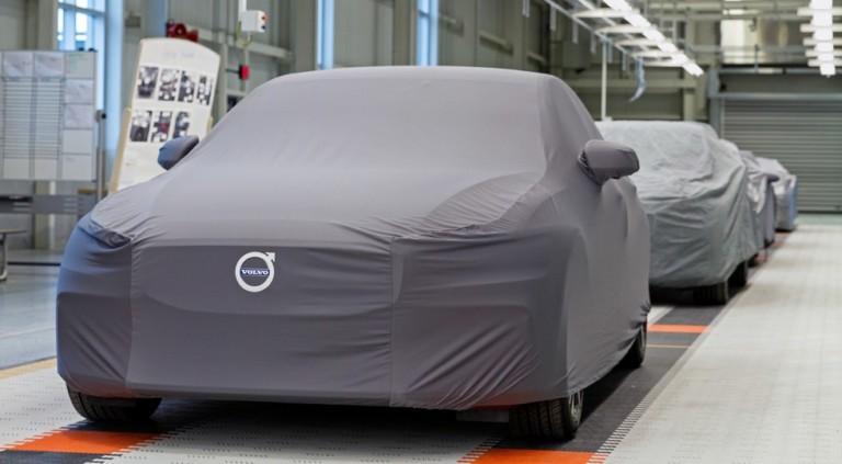 Новый седан Volvo S60 отправился в серийное производство 1