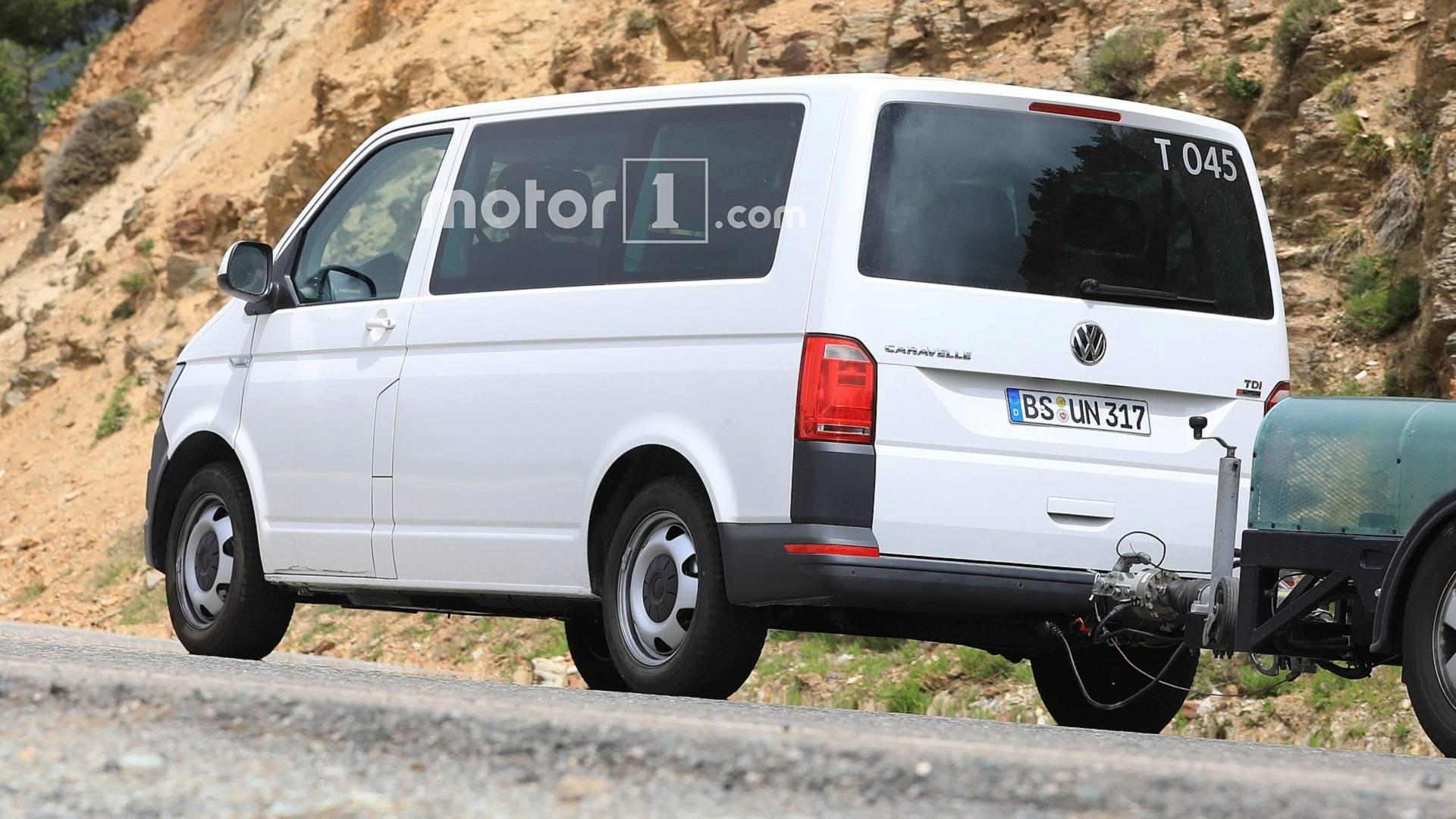 Новый Volkswagen Transporter впервые появился на фото 2